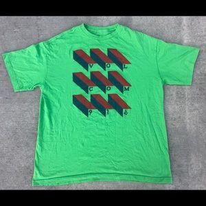 Volcom Stone 1991 Green Blocks Skate Surf t Shirt